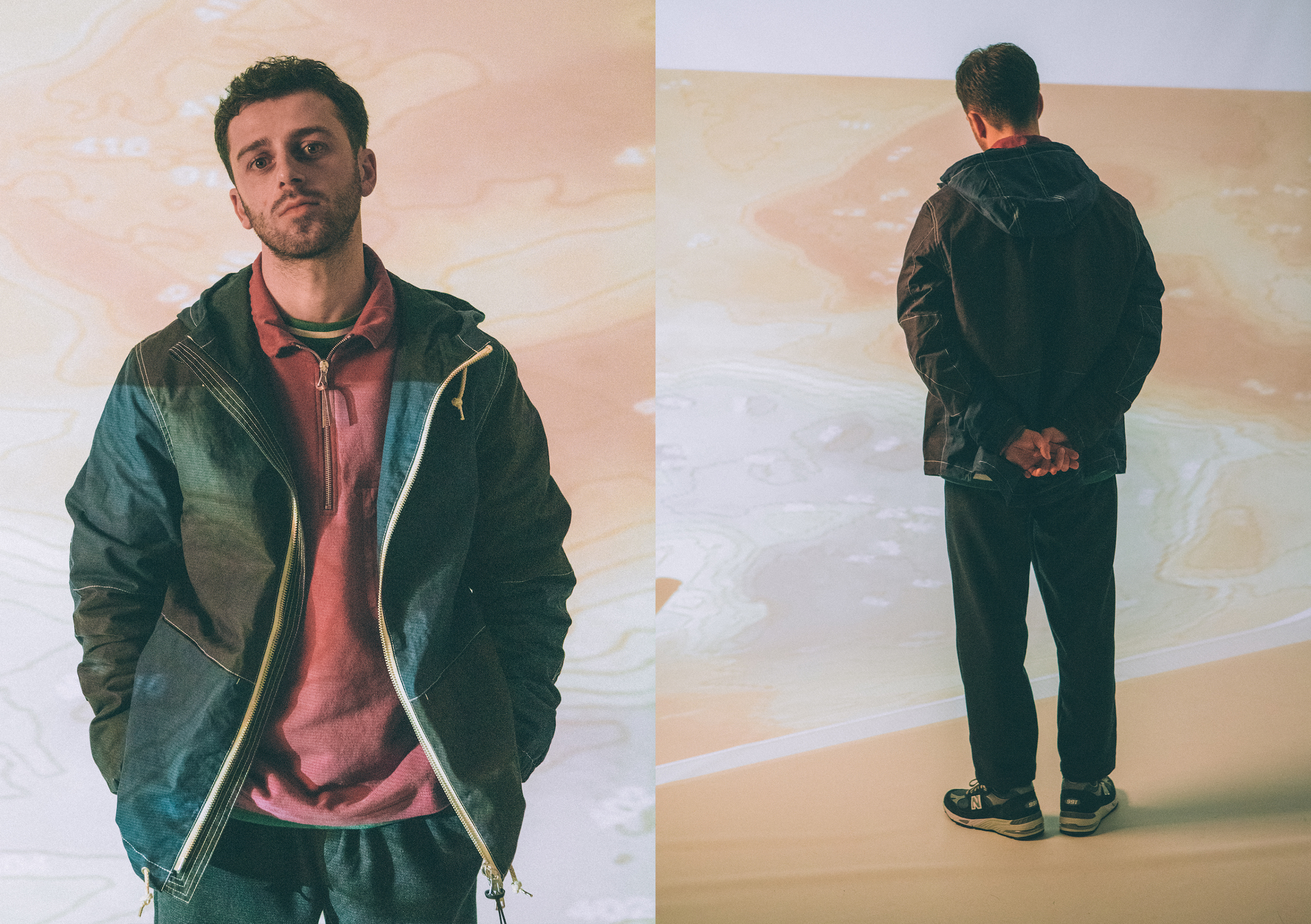 Albam AW20 Collection At HIP sweatshirt cagoule