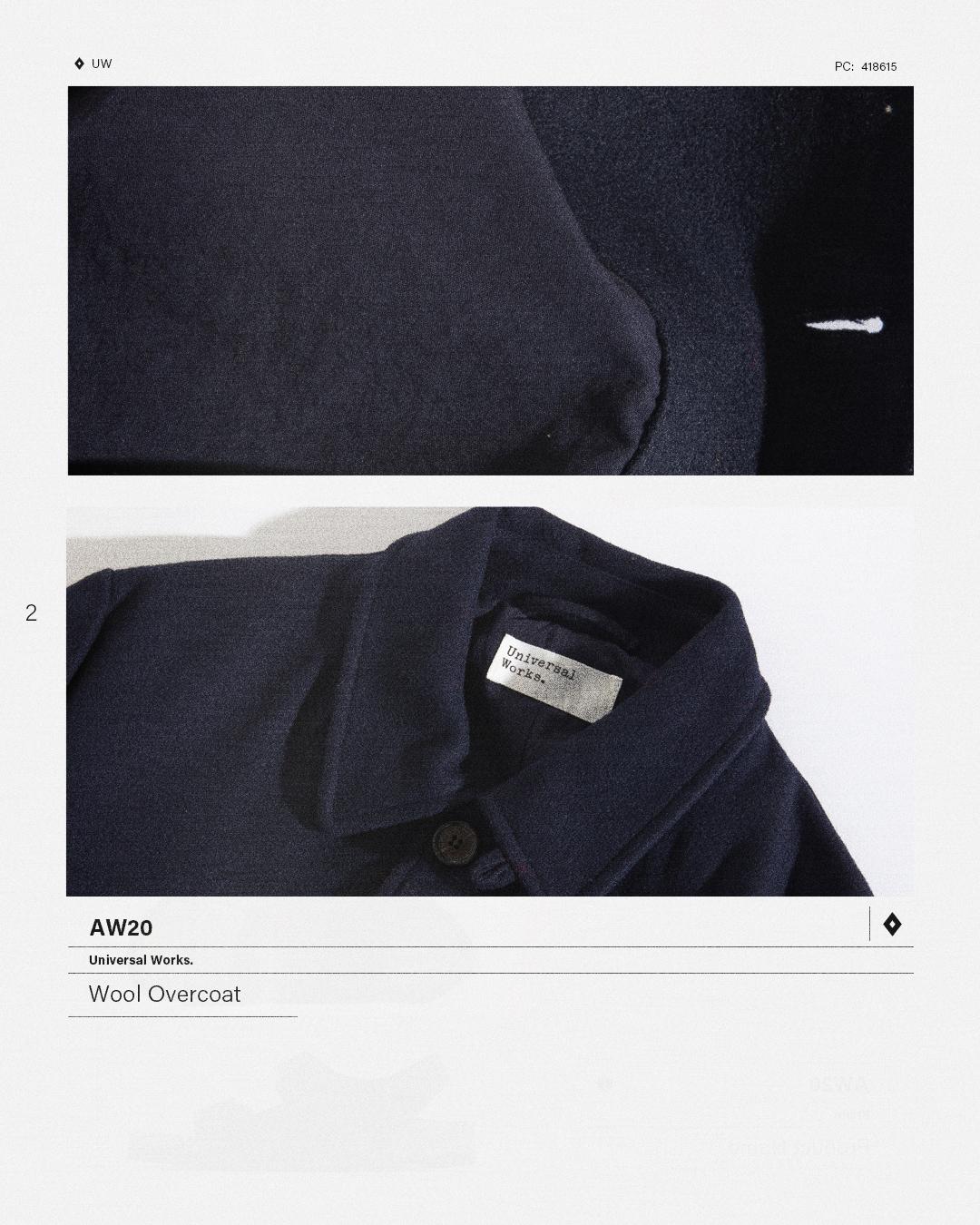 HIP Staff Picks: Universal Works AW20 Wool Overcoat