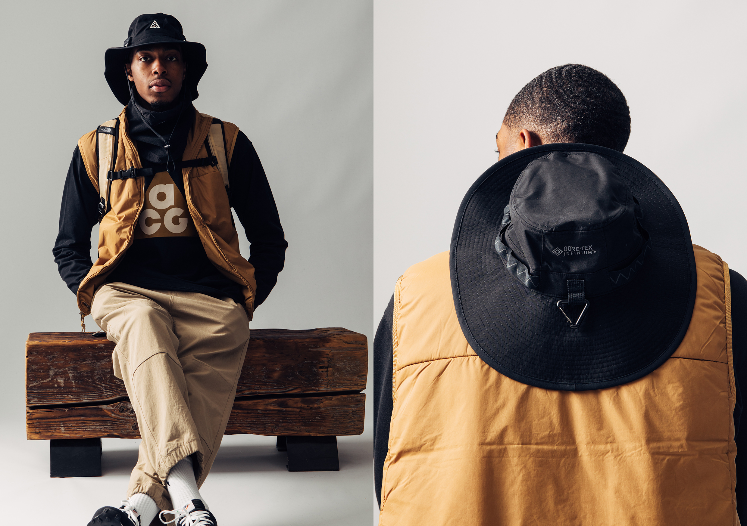 HIP Nike ACG SS21 Collection - Drop 1 Vest Hat Long sleeve