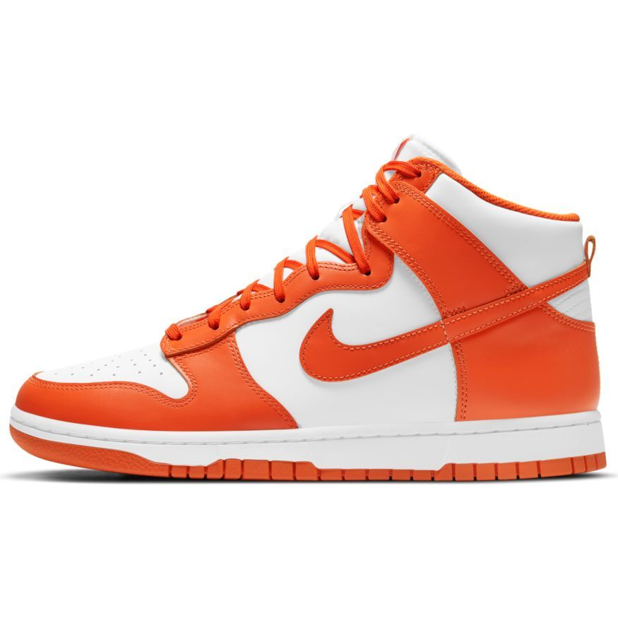 Nike Dunk Hi Retro 'White & Orange Blaze'
