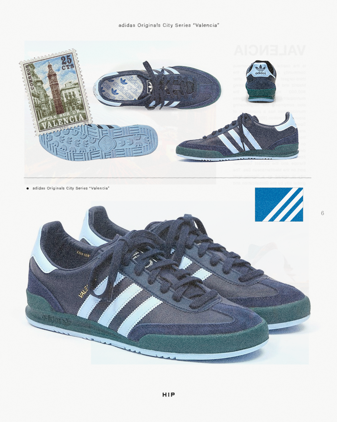 "adidas Originals ""City Series"" Valencia HIP"