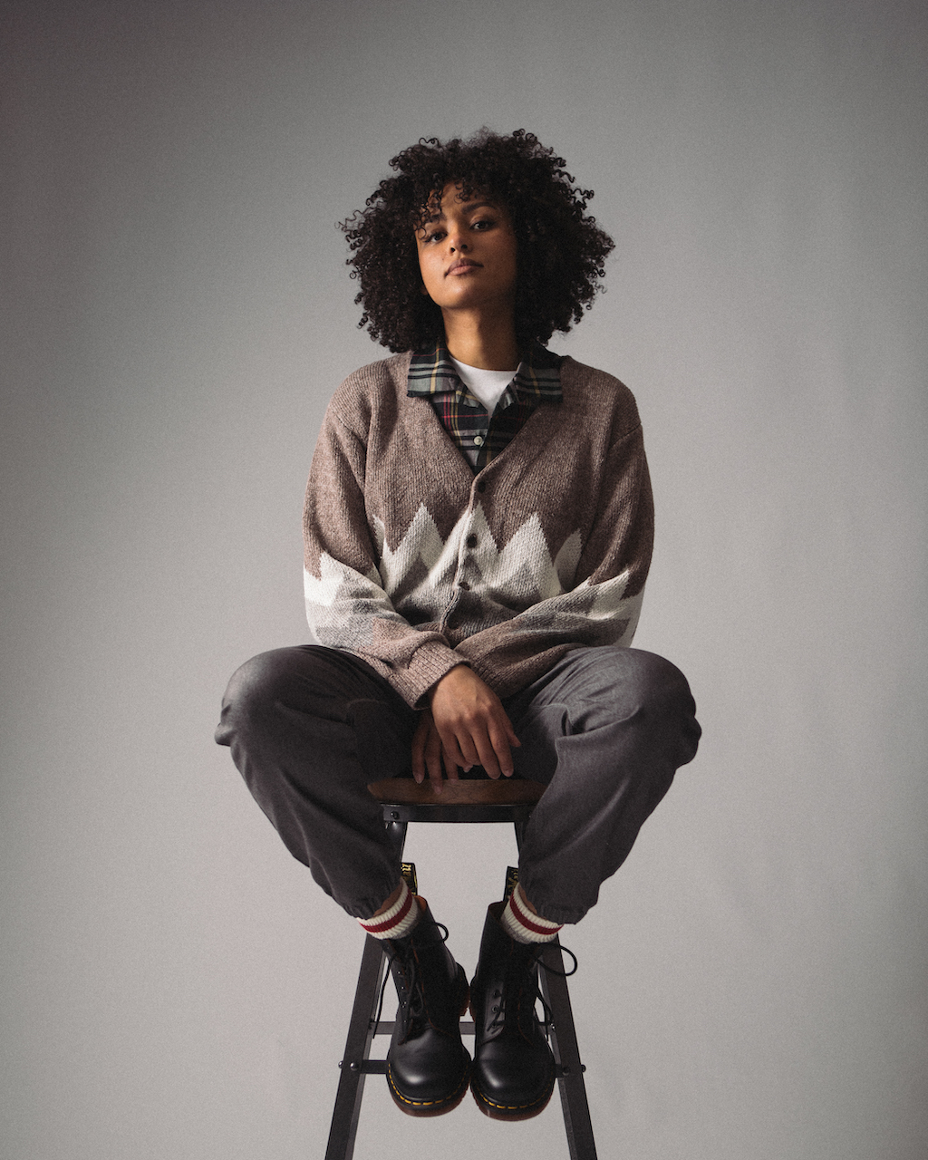 Beams Plus SS21 Collection At HIP Linen Cardigan