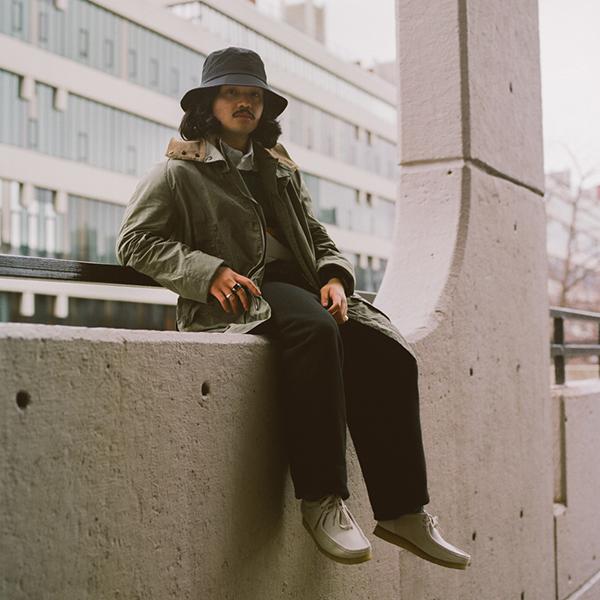 City Boy: Barbour White Label SS21